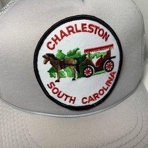Vintage Charleston South Carolina Snap Back Hat